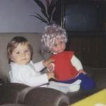 mit groooßer Puppe